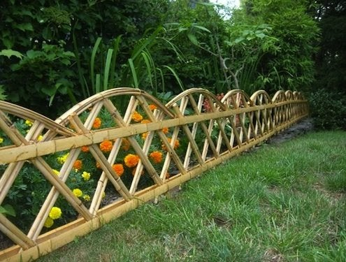Landscaping with Bamboo - Fencing