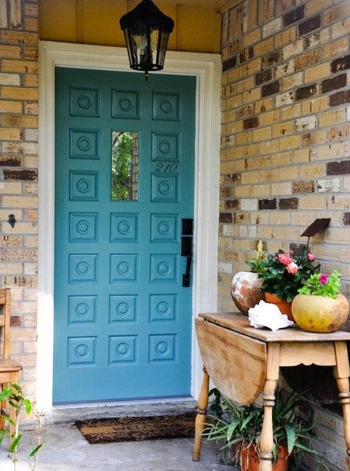 Painting-The-Front-Door