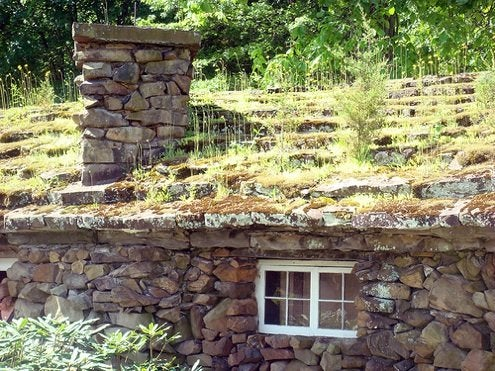 Green Roofs - Stone House