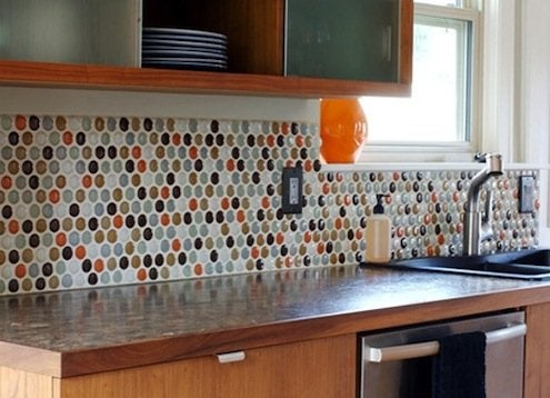 Tiling a Backsplash