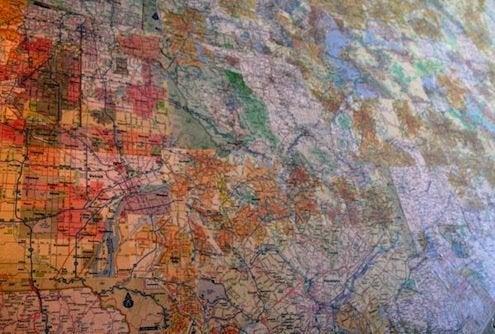 Map DIY - Wallpaper