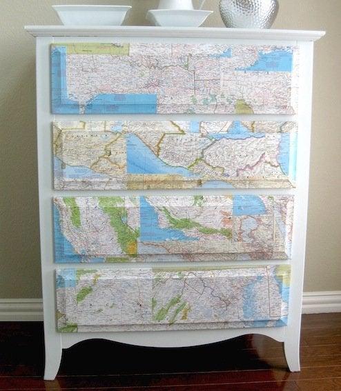 Map DIY - Dresser