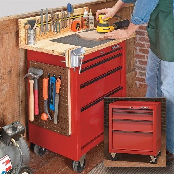 Workbench Plans - DIY Workbench from Woodsmith Magazine