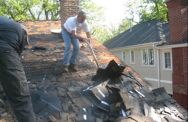 Hiring a Roof - Demolition
