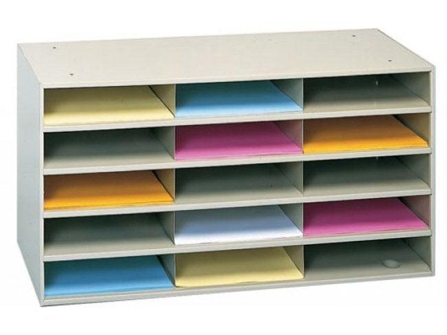 Storing Sandpaper - Letter Organizer
