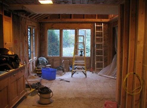 Construction Site Living - Renovation Progress