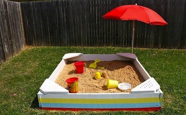 Kids DIY - Sandbox