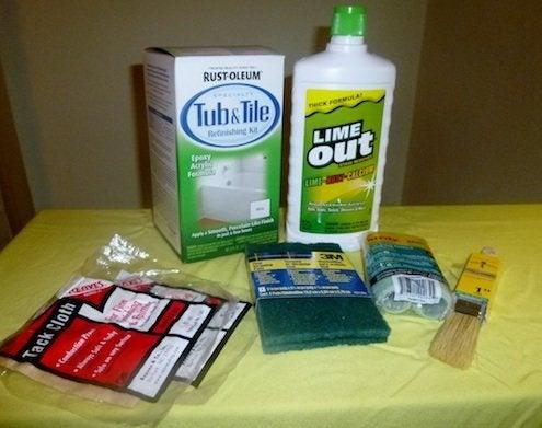 Bathtub Refinishing - Products