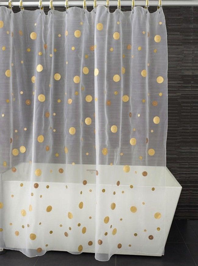 DIY Bathroom Ideas - Shower Curtain