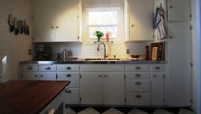 DIY Countertops - Stainless Steel