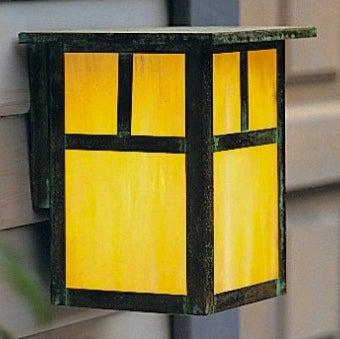 Front Door Updates - Outdoor Wall Sconce