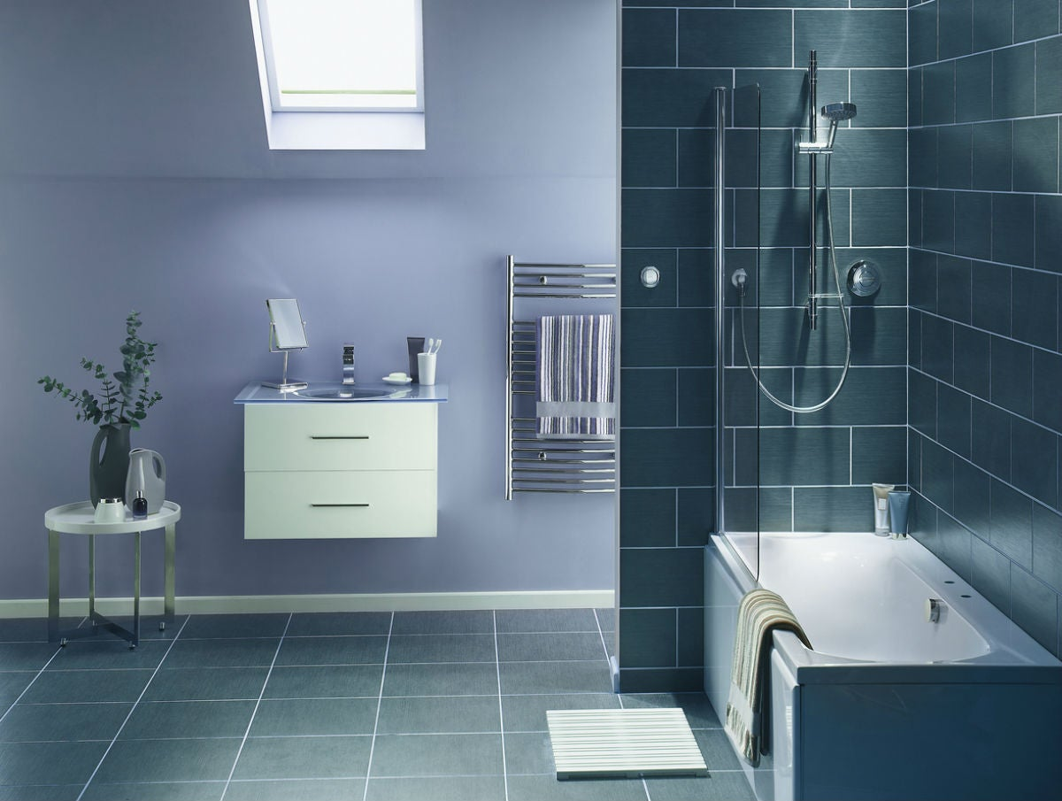 The Best Bathroom Floor Tile Options: Vinyl