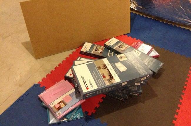 ClosetMaid Cubeicles Hack Kid's Desk Materials