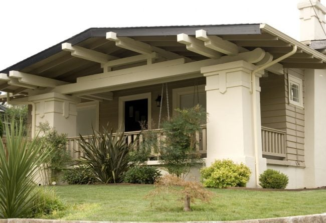 The Craftsman Bungalow Style House