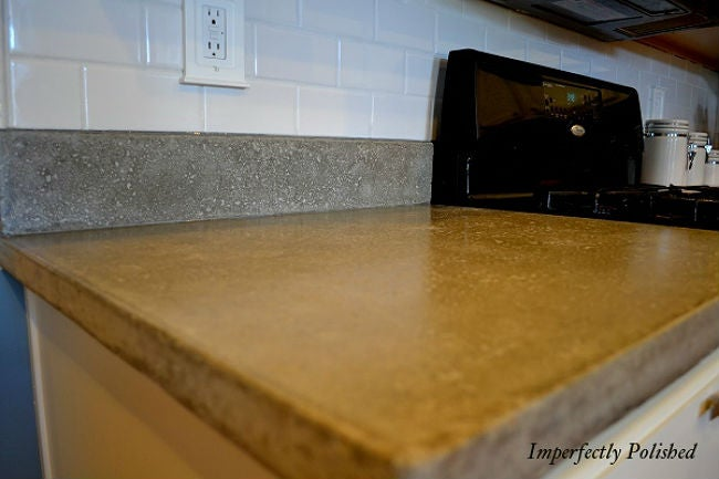 DIY Countertops Made with Concrete