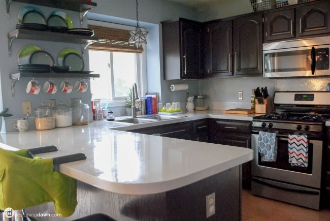 DIY Countertops with Paint