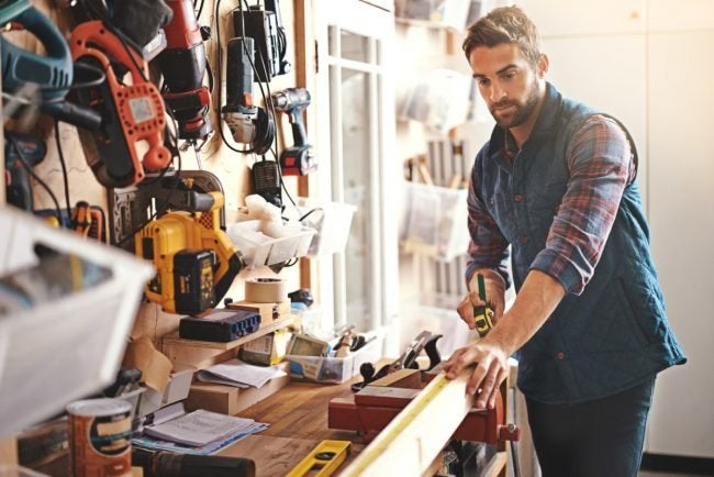Great Ideas for a Garage Workshop