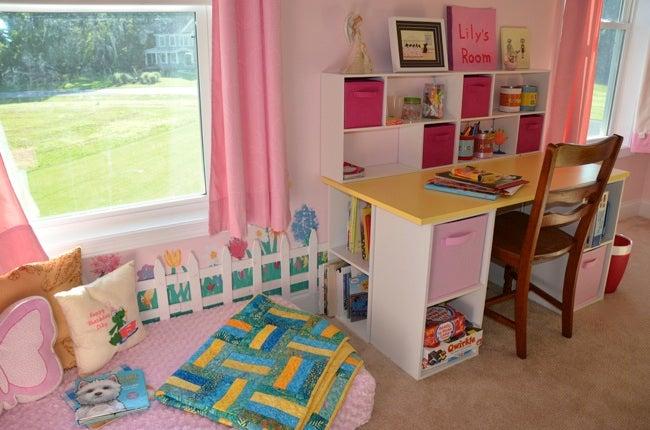 DIY Desk for Kids - Complete