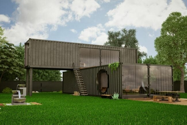 The Container House
