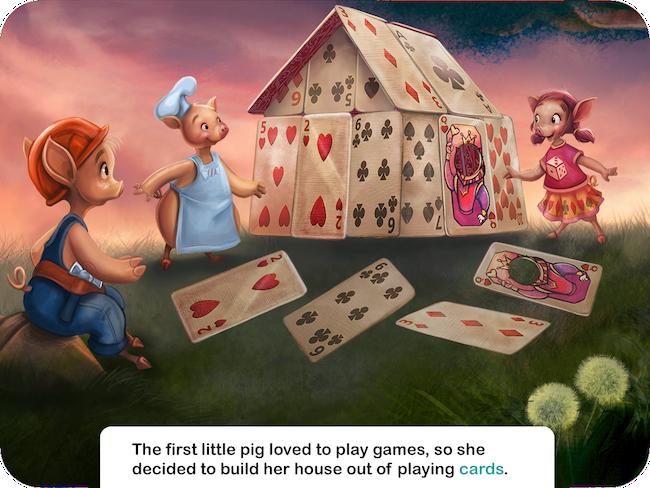 Bob Vila and the Three Little Pigs - Speakaboos