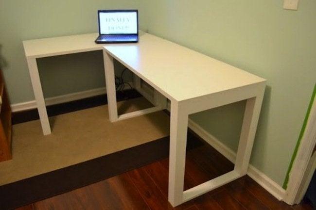 DIY Desk - Corner