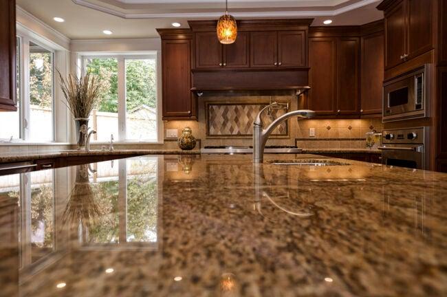 Granite Countertops - Closeup