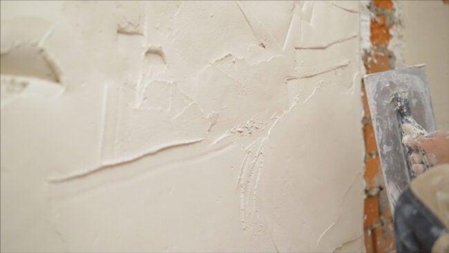 Three Coat Plastering - Brick