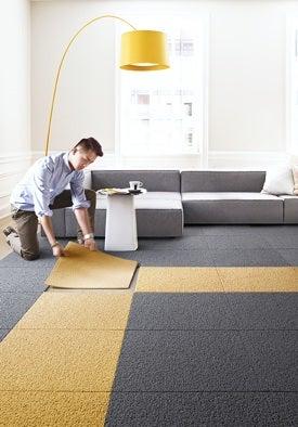 Carpet Tiles - Installation