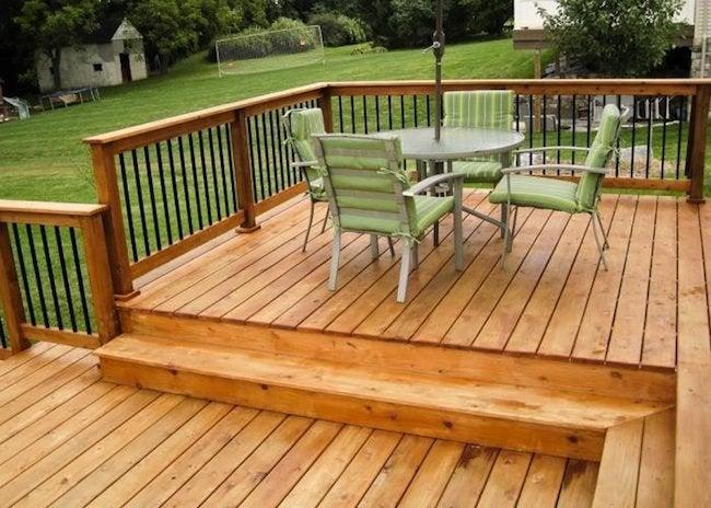 Wood for a Deck - Cedar