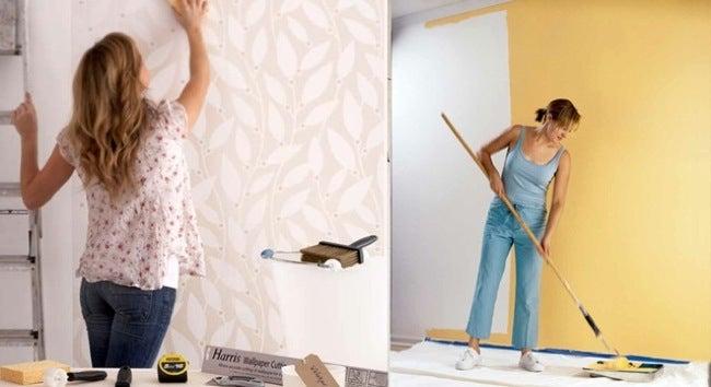 What Would Bob Do? Paint vs Wallpaper