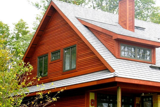 Types of Wood House Siding - Redwood