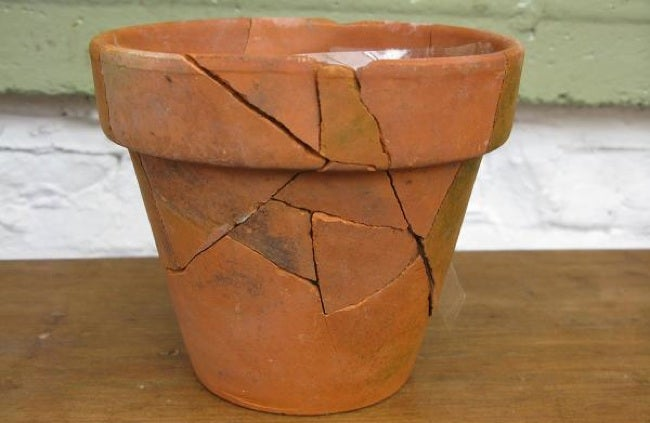 Repurpose Broken Pots - Fix It