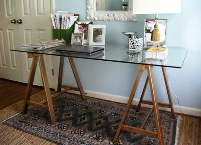 DIY Desk - Sawhorse