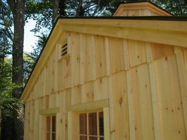Types of Wood House Siding - Pine