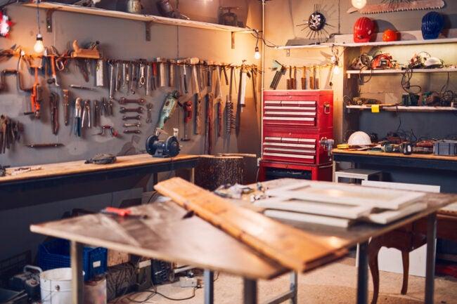 Woodworking Workshop Layout Design