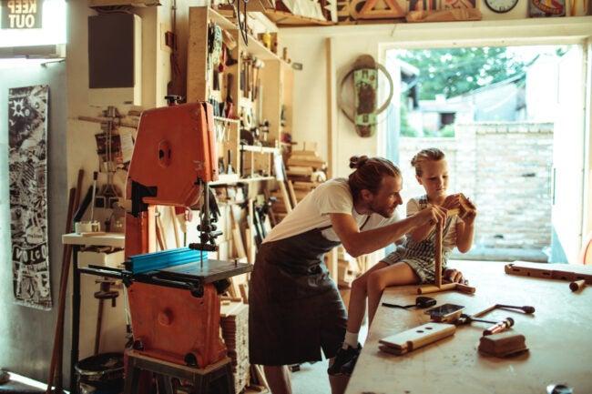 Woodworking Workshop Layout Design - Egress