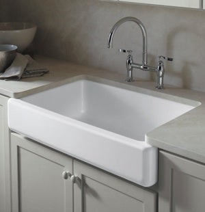 Cheap Remodeling - Apron Front Sink