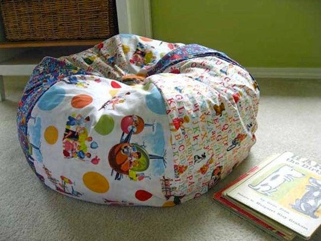 DIY Kids Furniture - Bean Bag