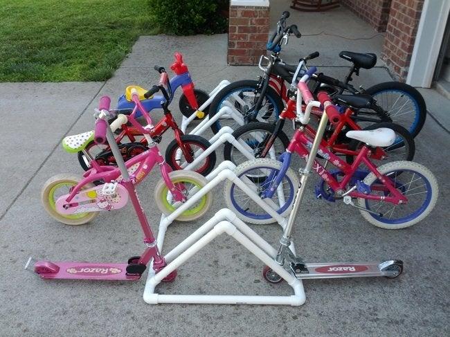 PVC DIY - Bike Storage
