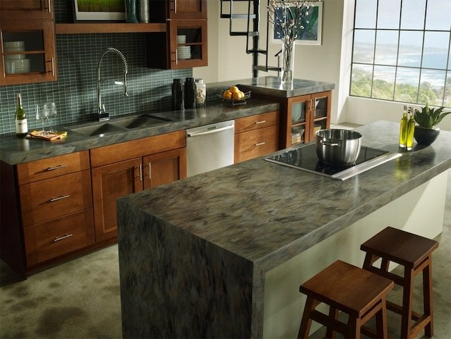 Kitchen Countertop Materials - Corian