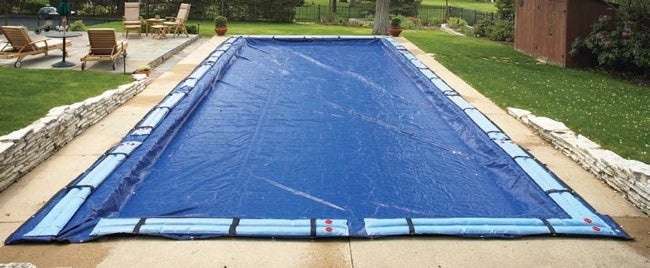 How to Close a Pool - Cover