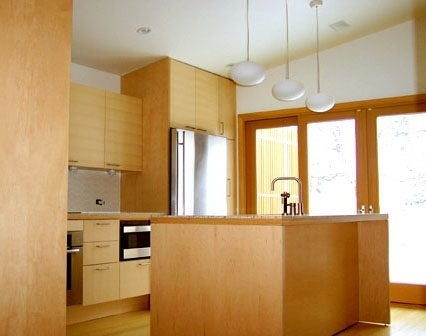 Budget Kitchen Renovation Tips - Plywood Cabinets