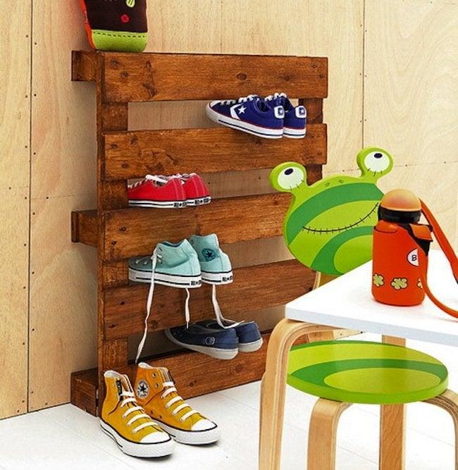 Kids Room Storage - Pallet Rack