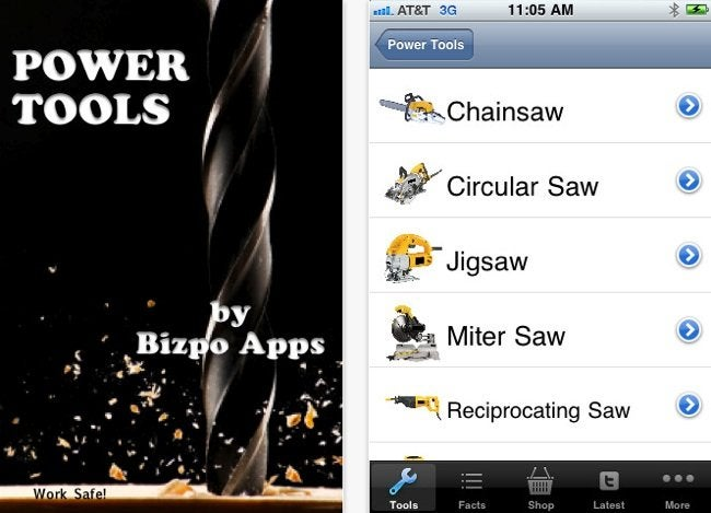 Tool Apps - Power Tools