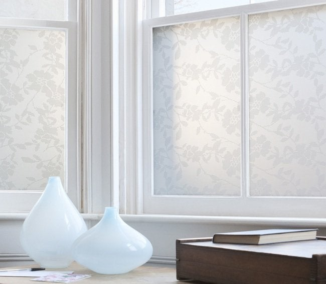 Install Window Film - Lace Floral