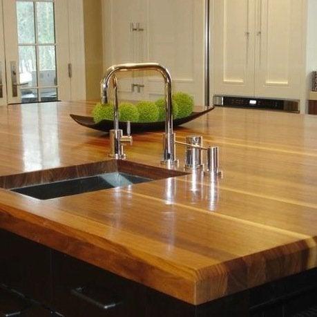 Kitchen Countertop Materials - Butcher Block