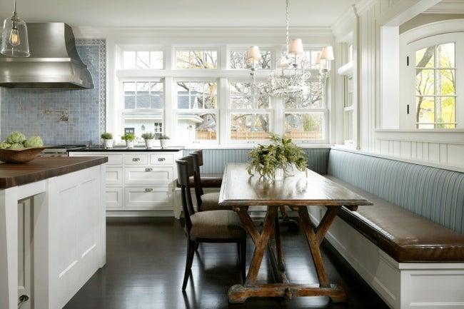 Kitchen Remodeling Design Tips - Banquette