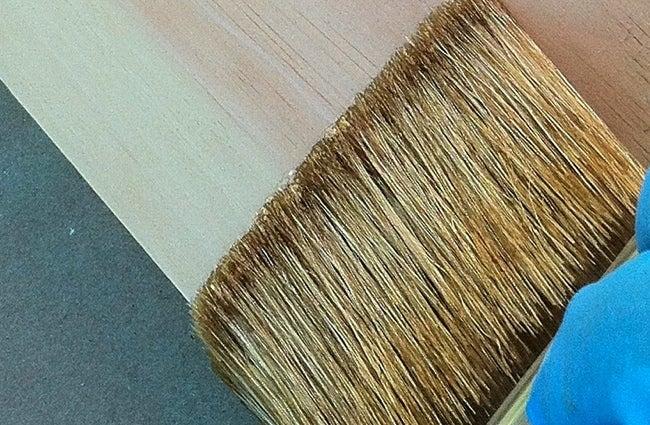 How to Varnish Wood - Brushing