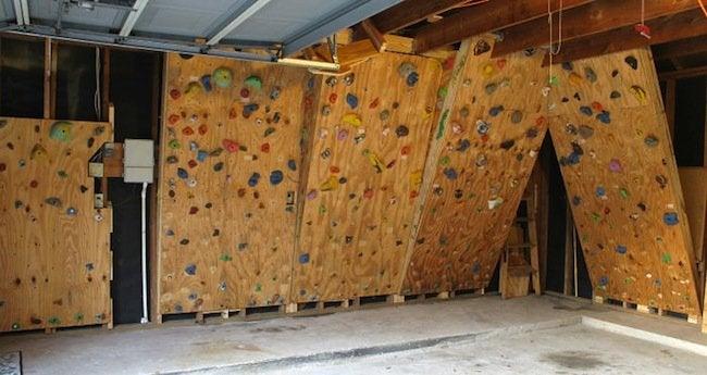 DIY Gym - Climbing Wall