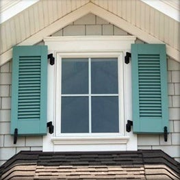 How To: Hang Exterior Shutters